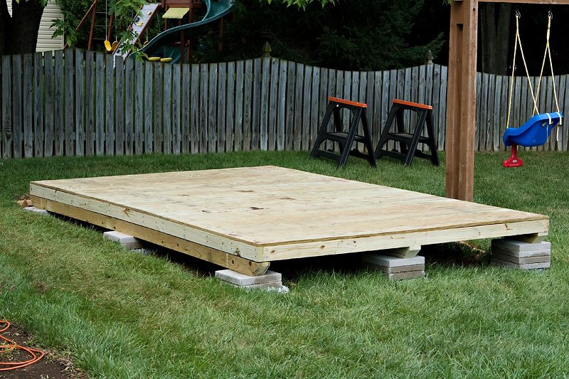 Introduction To Building A Storage Shed Part 1