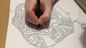 Having a map pre drawn is an important tool when you think of how to protect your neighborhood.
