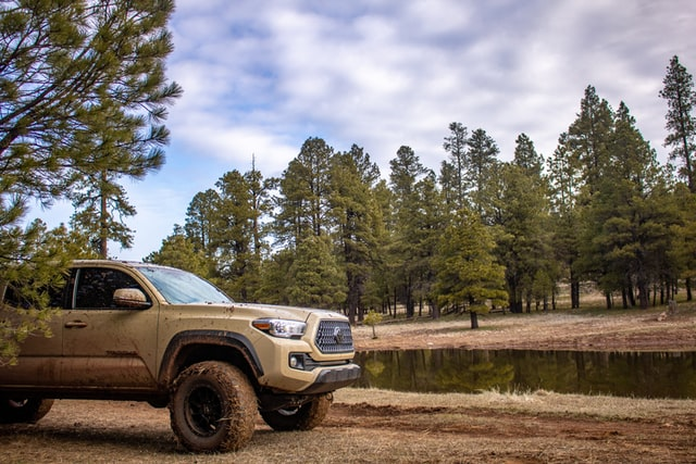 Toyota Tacoma's are often chosen for their truck camping capabilities.